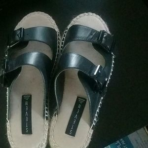 Steven by Steve Madden Lapis genuine leather slide